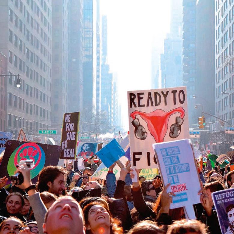Von Wohnzimmerdemos bis Tinder – neue Formen des Protests in den USA