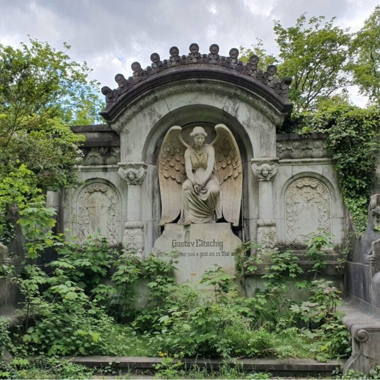 Entdeckungen auf einem Friedhof